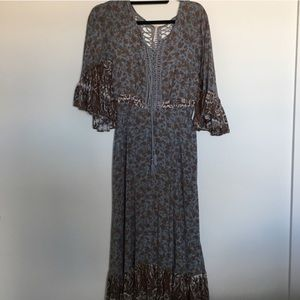 Free People Flower Maxi
